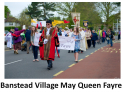 Banstead Village May Fayre @BansteadHighSt @BVMQG