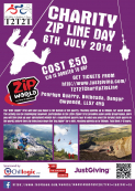 Charity Zip Line in Snowdonia