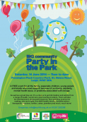 Big Community Party in the Park