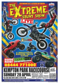 The Extreme Stunt Show Live at Kempton Park Racecourse