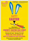 Easter Egg Hunt at Downtown, Grantham