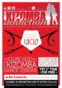 3rd Of May Kizomba Dance Classes - Clube Vicio @ Bar Lenuccia