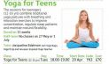 Yoga for Teens at the Letchworth Centre