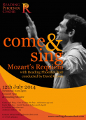Reading Phoenix Choir - Come and Sing Mozart's Requiem