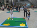 Play Crazy Golf in the arc this Easter