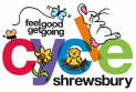 Family cycle skills and short bike ride in Shrewsbury