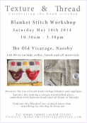 BLANKET STITCH WORKSHOP