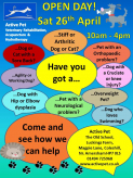 Open Day at Active Pet Veterinary Rehabilitation Clinic