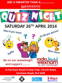 Charity Quiz Nite