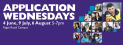 Application Wednesdays- Paget Road Campus
