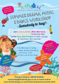 Theatrebugs Summer Holiday Workshops!