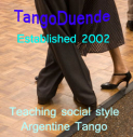 Argentine Tango 6 week courses Thursdays