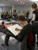 Brush up on your art skills with weekly life drawing sessions