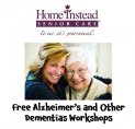 Free Alzheimer's and Dementia Workshops in Epsom @homeinsteadKT18 #dementiaaware