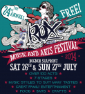 Rox Music and Arts Festival