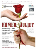 Romeo and Juliet Theatre Performance in Shrewsbury castle