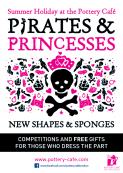PIrates and Princesses: Summer Holidays at the Pottery Cafe
