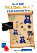 Gooch Bear's Charity Car Treasure Hunt and Poppy Picnic
