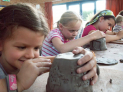 Children's School Holiday Pottery Workshops