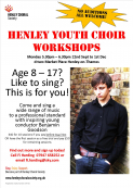 HENLEY YOUTH CHOIR WORKSHOPS