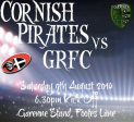 GUERNSEY RUGBY FOOTBALL CLUB VS CORNISH PIRATES