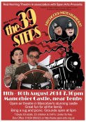 The 39 Steps at Manorbier Castle