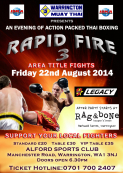 Rapid Fire Thai Boxing