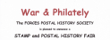 War and Philately - Stamps & Postal History Fair in #Banstead #Philately #Stamps