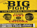 THE BIG FIGHT Fury vs Chisora