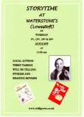 Storytime at Waterstone's Lowestoft
