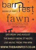 Barnfest Warm Up Party