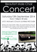 BEAUFORT MALE CHOIR CONCERT