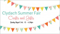 Clydach Summer Crafts and Gifts Fair