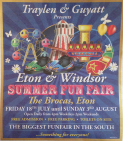 Eton & Windsor Summer Fun Fair at  The Brocas, Eton
