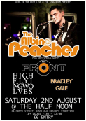 K.I.T.R PRESENTS... THE ALBINO PEACHES + THE FRONT + HIGH FLYING WOLVES + BRAD GALE
