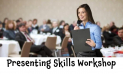 Presenting Skills Workshop – with professional public speakers @gesspeaking @louisecamby