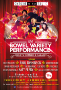 The Bowel Variety Performance - Comedy & Cabaret