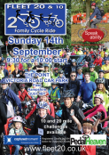 Fleet 20 & 10 family cycle ride