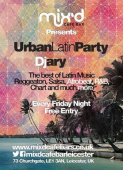Urban Latin Party Every Friday In Leicester