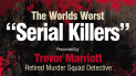 The World's Worst Serial Killers in gory detail come to Epsom Playhouse @epsomplayhouse #theatre