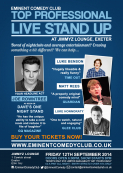 Eminent Comedy Club Exeter