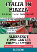 Italia In Piazza – The Real Italian Food Market.
