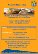 Cheese and Wine Networking Evening