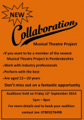 Collaboration: Musical Theatre Project Auditions