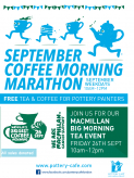 The Pottery Cafe Coffee Morning Marathon