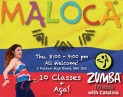 "10 Weeks ""Intro to Zumba®"" Course + Acai Berry Smoothie"