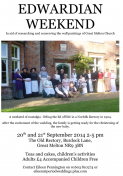 EDWARDIAN WEEKEND at Great Melton