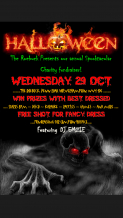 Halloween Charity Fund raiser in aid of Compton Hospice families welcome