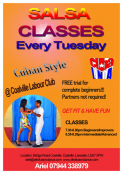 Salsa Classes with Cuba Linda Leicester