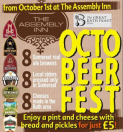 The Assembly are celebrating Cask Ale Week  Beer & Food Festival